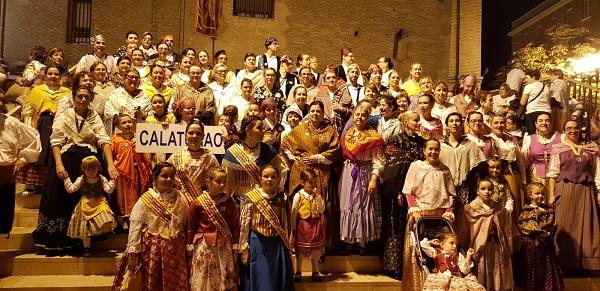 Calatorao en la ofrenda del Pilar 2019